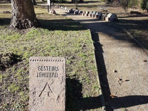 Gesteinslehrpfad in Ilsenburg